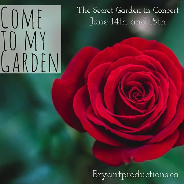 Tomorrow we open for three shows only! We have an 11 piece orchestra and a cast of 28. Ticket link in bio. * * * * #musicaltheatre #torontotheatre #bryantproductions #toronto #secretgarden