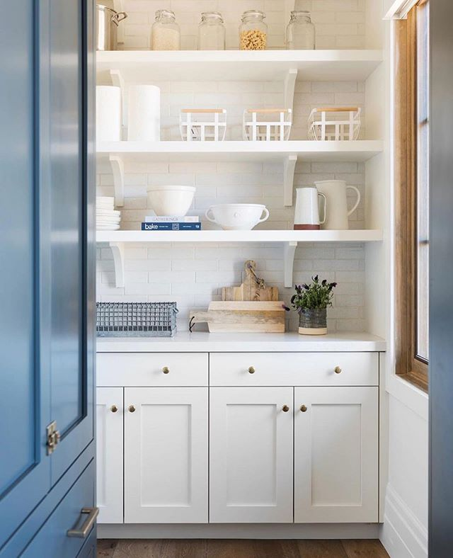 Still gushing over this secret pantry by @studiomcgee ! Doorway to organized heaven 🤩