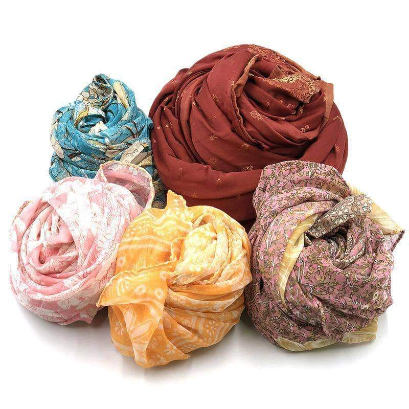 Photo from Darn Good Yarns website- Recycled Sari Silk