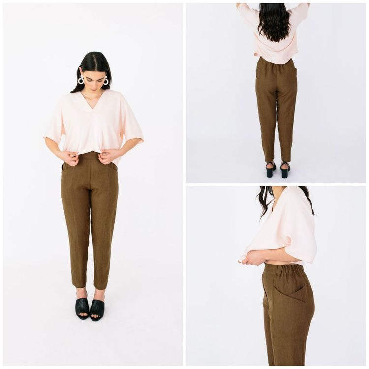 Paper Cut Pattern- Palisade Pants