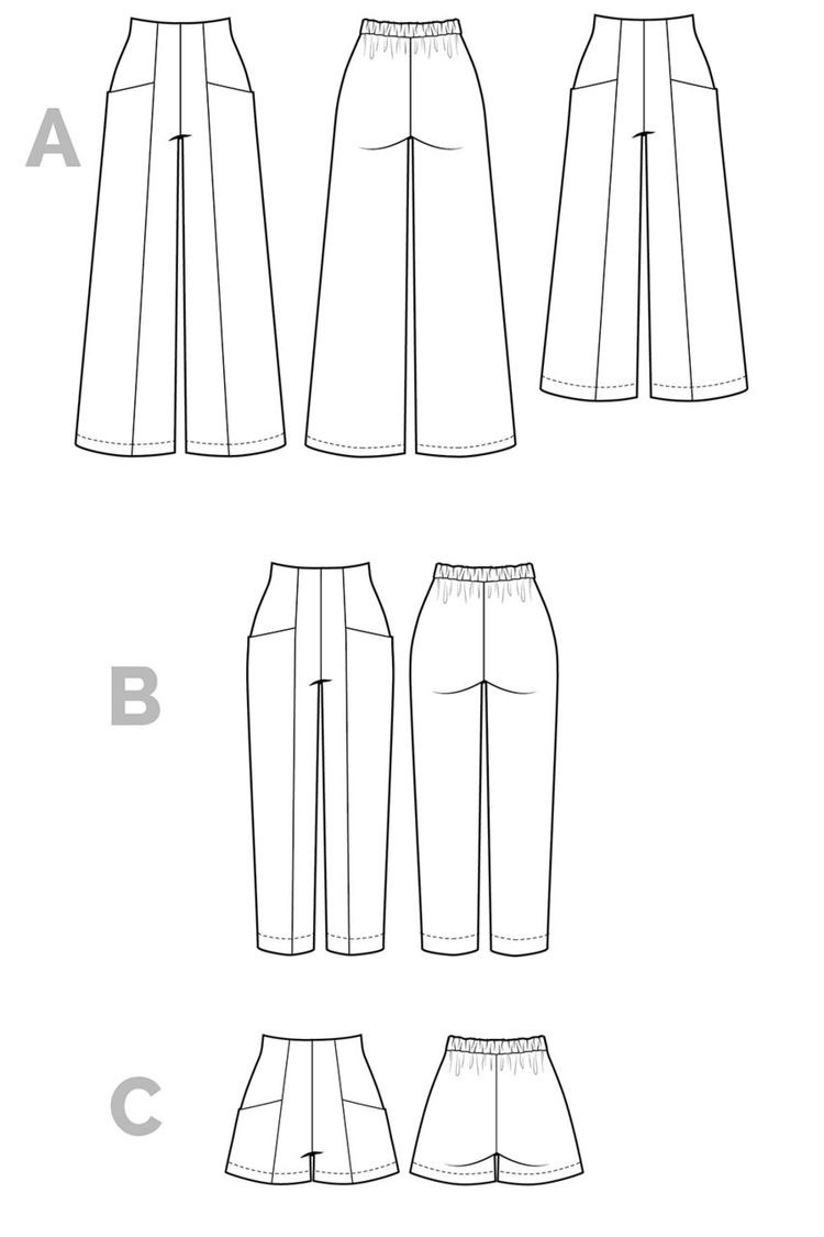 Sew your own!  Closet Case Patterns Pietra Pant