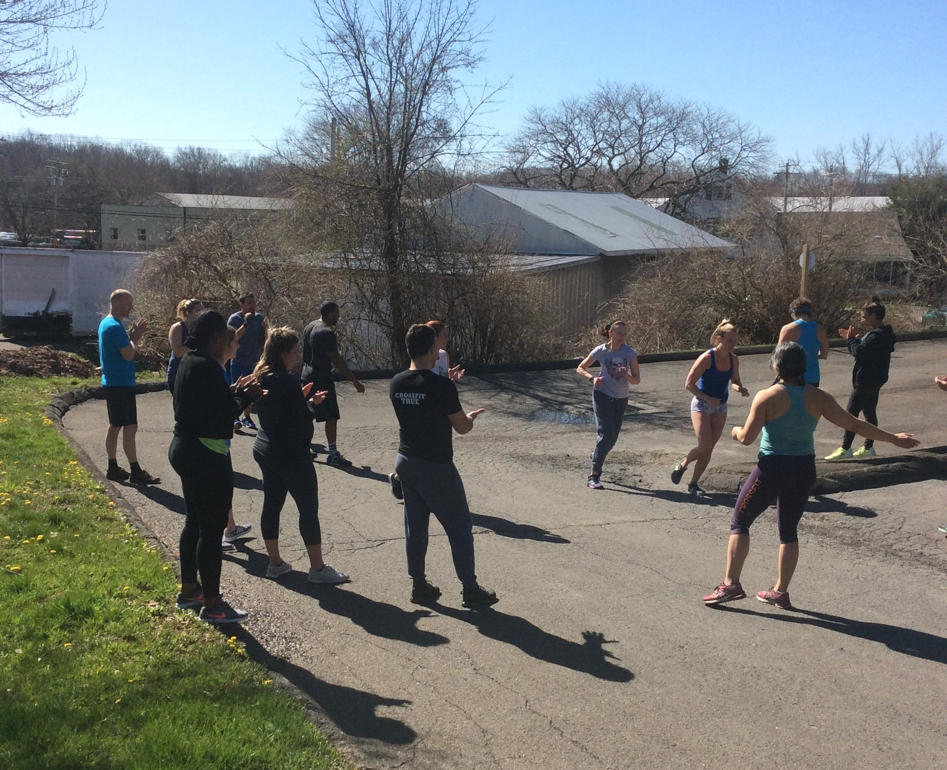 CrossFit Classes - Small group classes lead by coach from warm-up to cool down