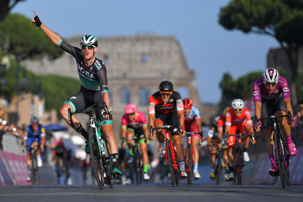 Outstripping his rivals at the Giro d'Italia last year (Getty Images)