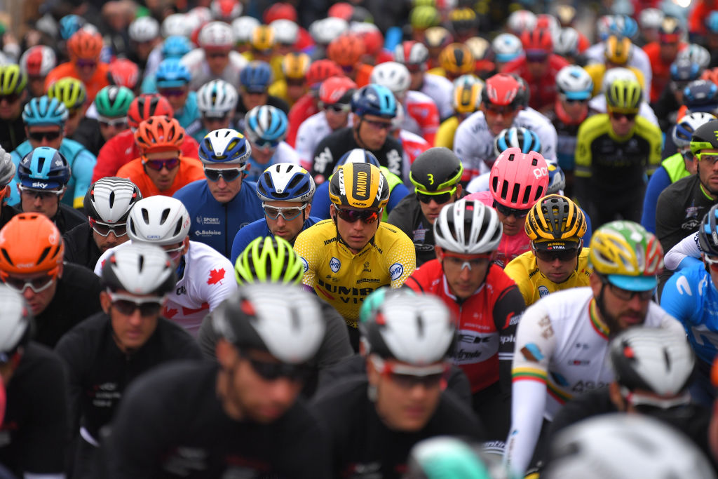 A face in the crowd at Kuurne-Brussels-Kuurne (Getty Images)