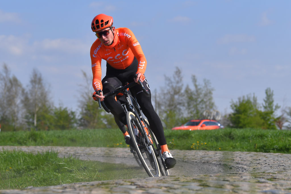 On a training ride ahead of Paris-Roubaix (Getty Images)