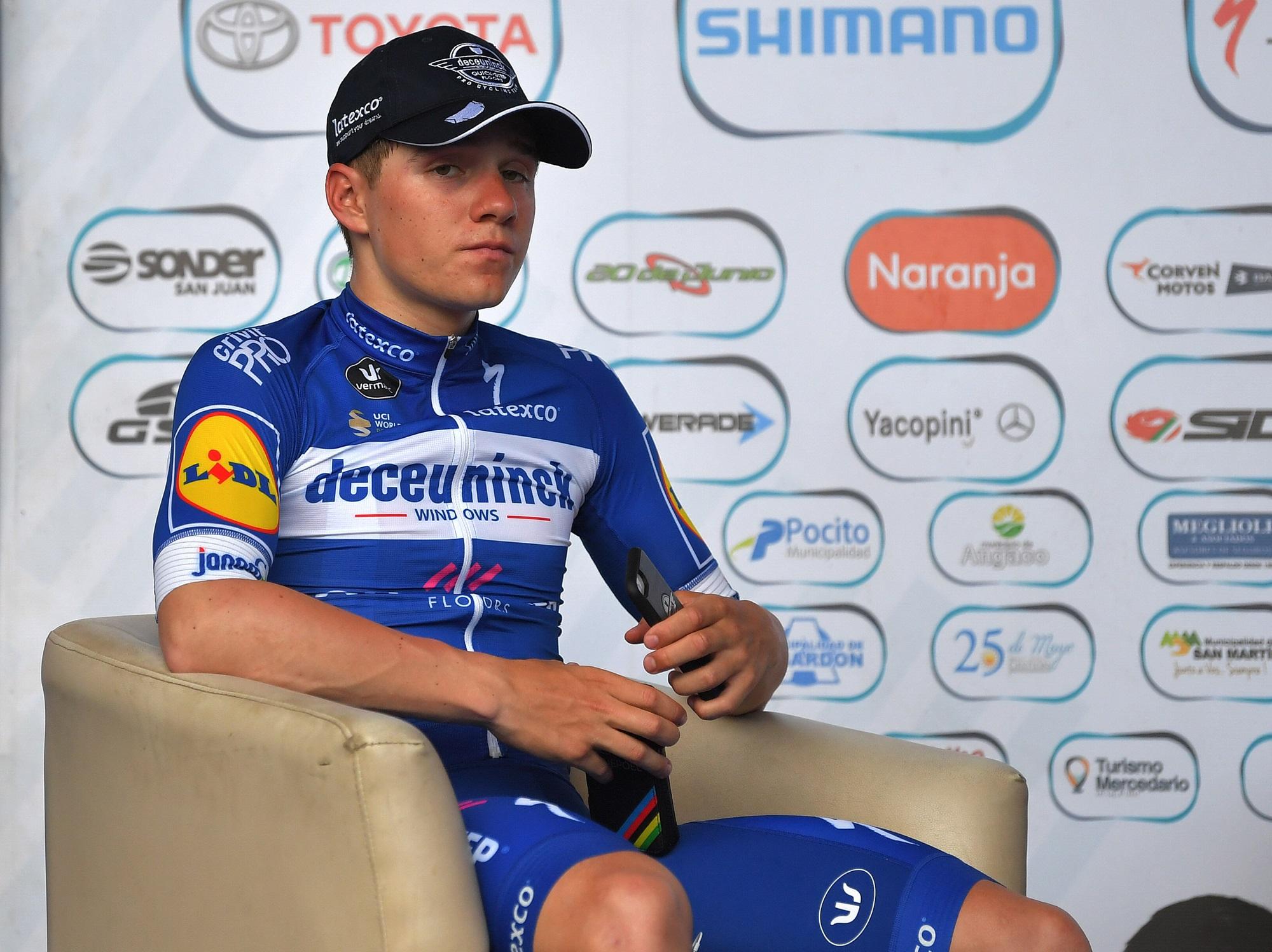 Wachten in de hot-seat na de proloog in de Vuelta a San Juan in Argentinië (Getty Images)
