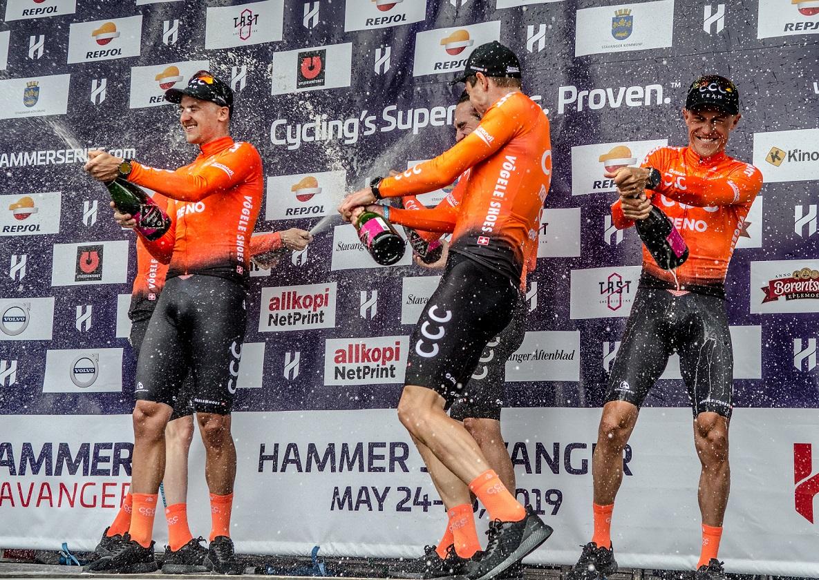 CCC Team stoppet klokken på den raskeste tiden for dagen og vant Hammer Chase (Bilde: Karen M Edwards)