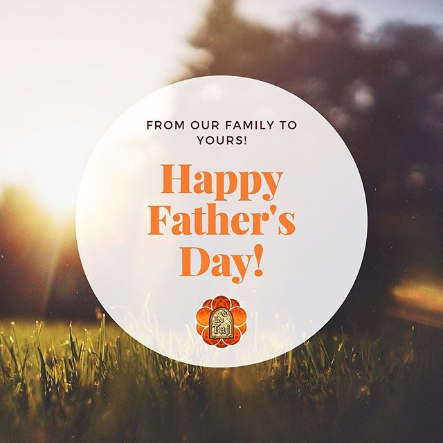 Joyeuse Fête des Pères!!! De notre famille chez #LeTaj 🧡 #FathersDay