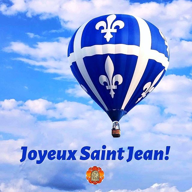 Joyeuse Fête Nationale Du Quebec!!! Today we celebrate the Quebecois identity and unity! 😍🌟🙏🏼