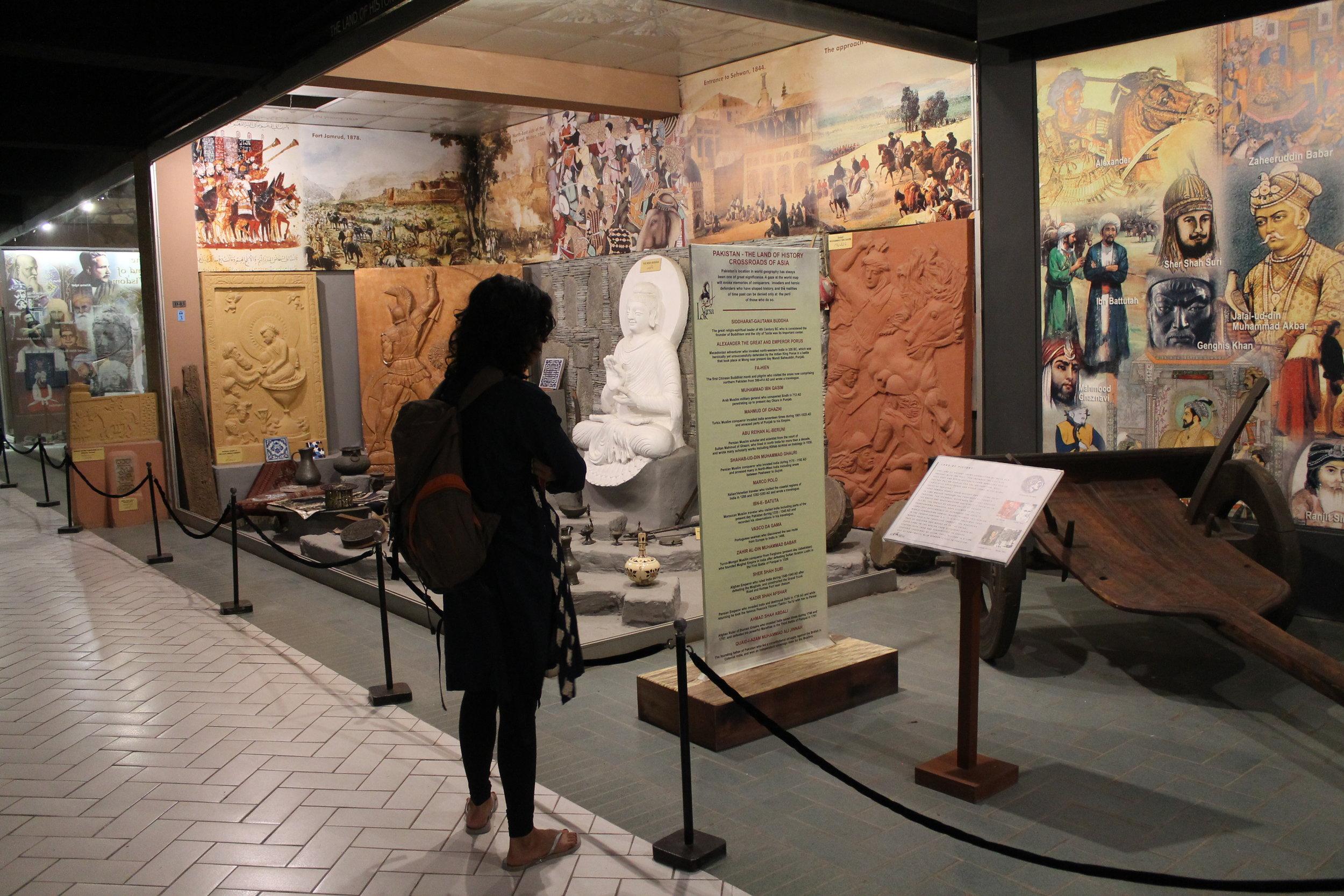 Visiting the Lok Virsa Heritage Museum