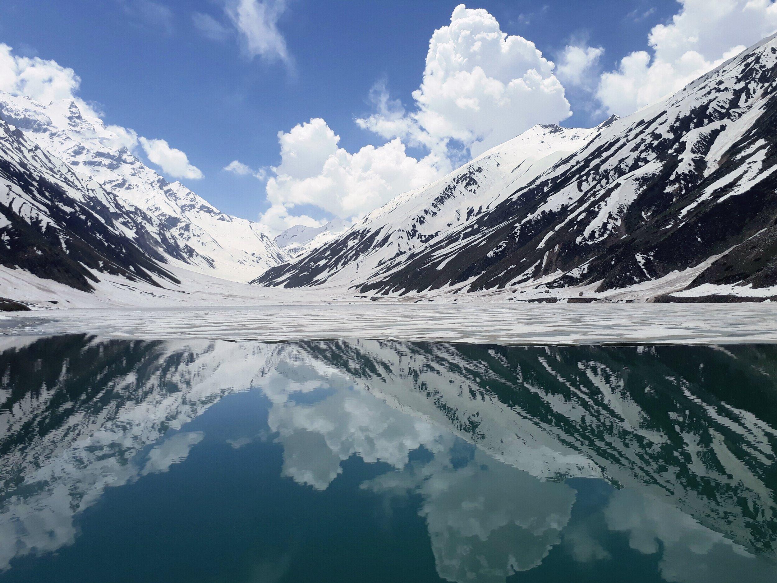 Lake Saif-ul-Mulook (Photo by Mughees Tufail)