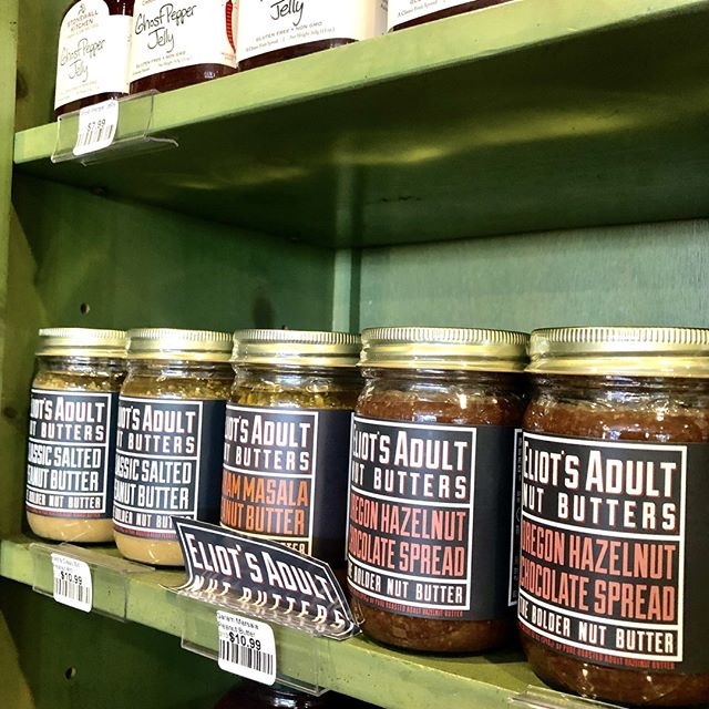 We heard it's National Peanut Butter Day so we couldn't help but give our @eliotsnutbutters some love. Grab some from our shelves before they're gone.