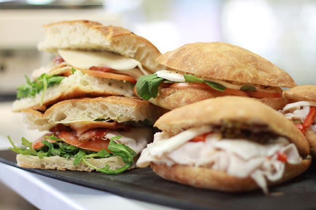 Hungry? Pick up your phone and order one of our delicious sandwiches from @postmates!