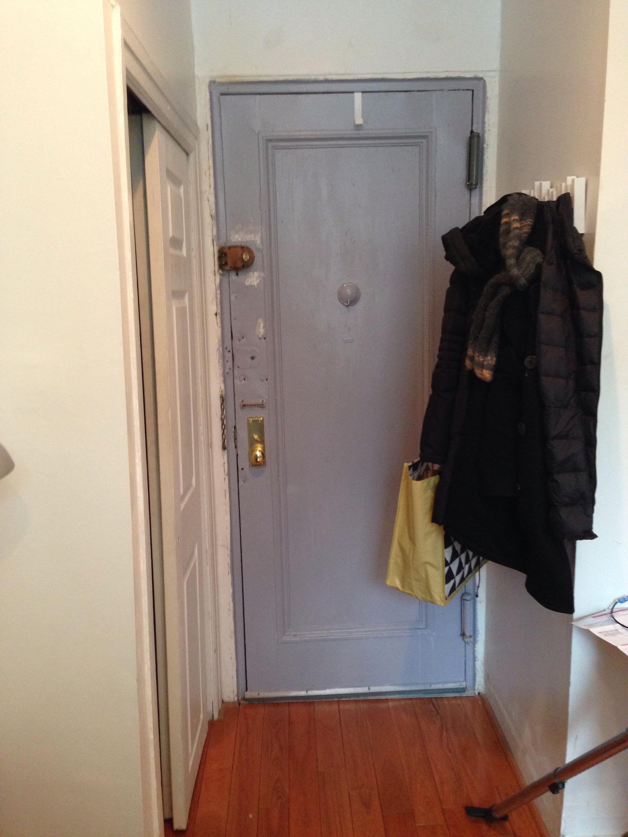 BEFORE - front door