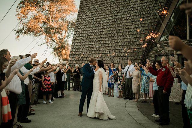 Another great send off here at Rose River. Photo Credit @saracarlsonphotography #weddingparty #weddingstyle #roseriverreceptions #idahoweddingvenue #idahowedding #eastidahoweddingvenue #eastidahowedding #riverwedding #outdoorweddingvenue #idahobride #eastidahobride #roseriverreceptions