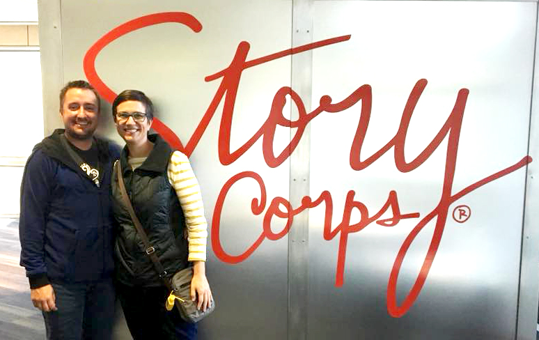 Bethany and her partner were invited to share their story on KALW's StoryCorps.  Listen to it here!