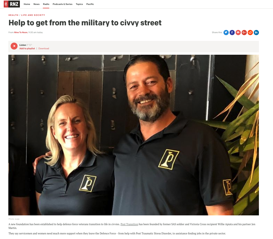 radio-nz-help-to-get-from-the-military-to-civvy-street