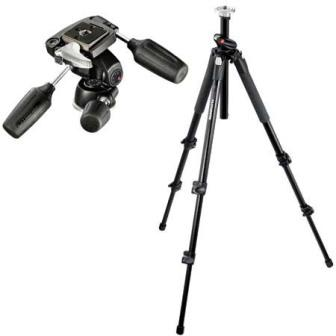 Manfrotto 190XPROB 3 Section Aluminum Pro Tripod with Ball head