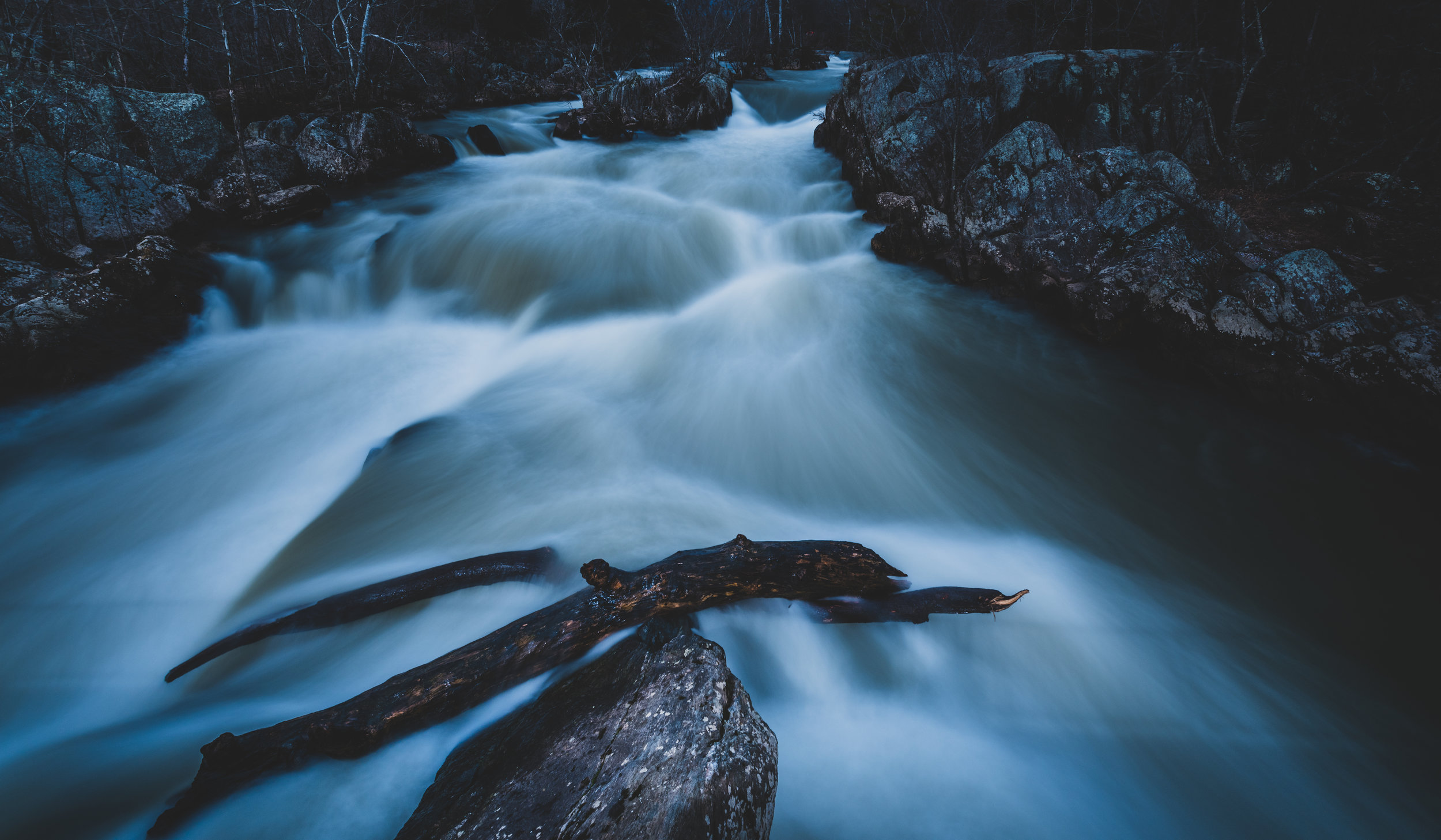 Long Exposure Effect on Water Falls (click the image to view full size)