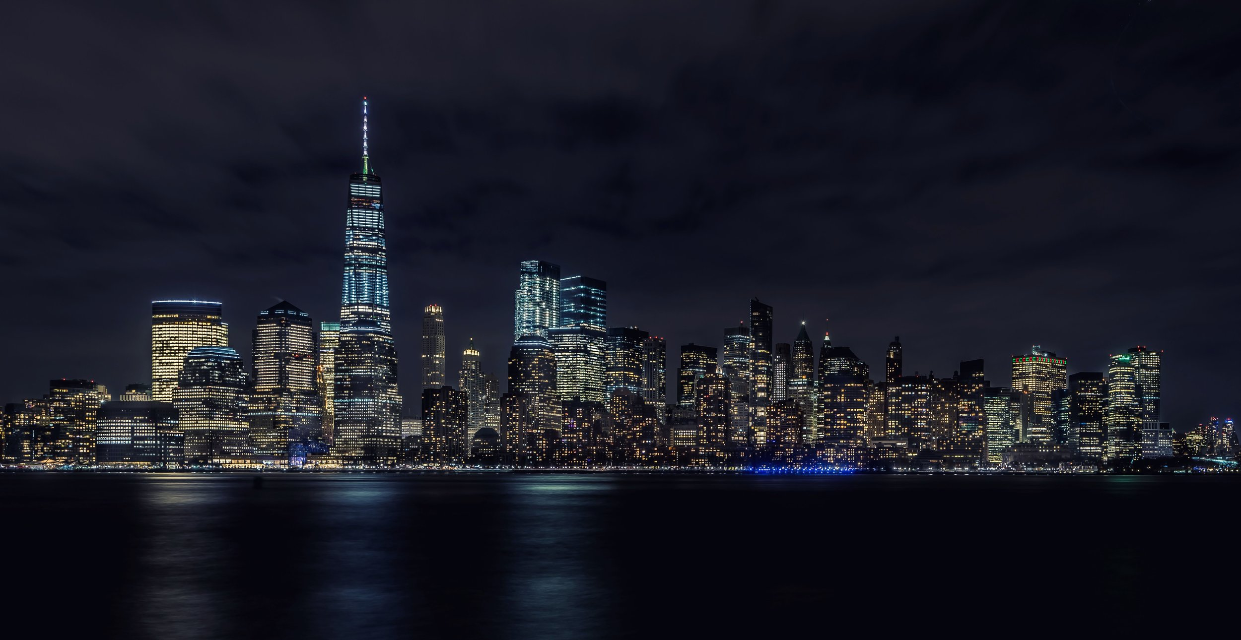 Lower Manhattan Skyline from the Liberty State Park, NJ (click the image to view full size)