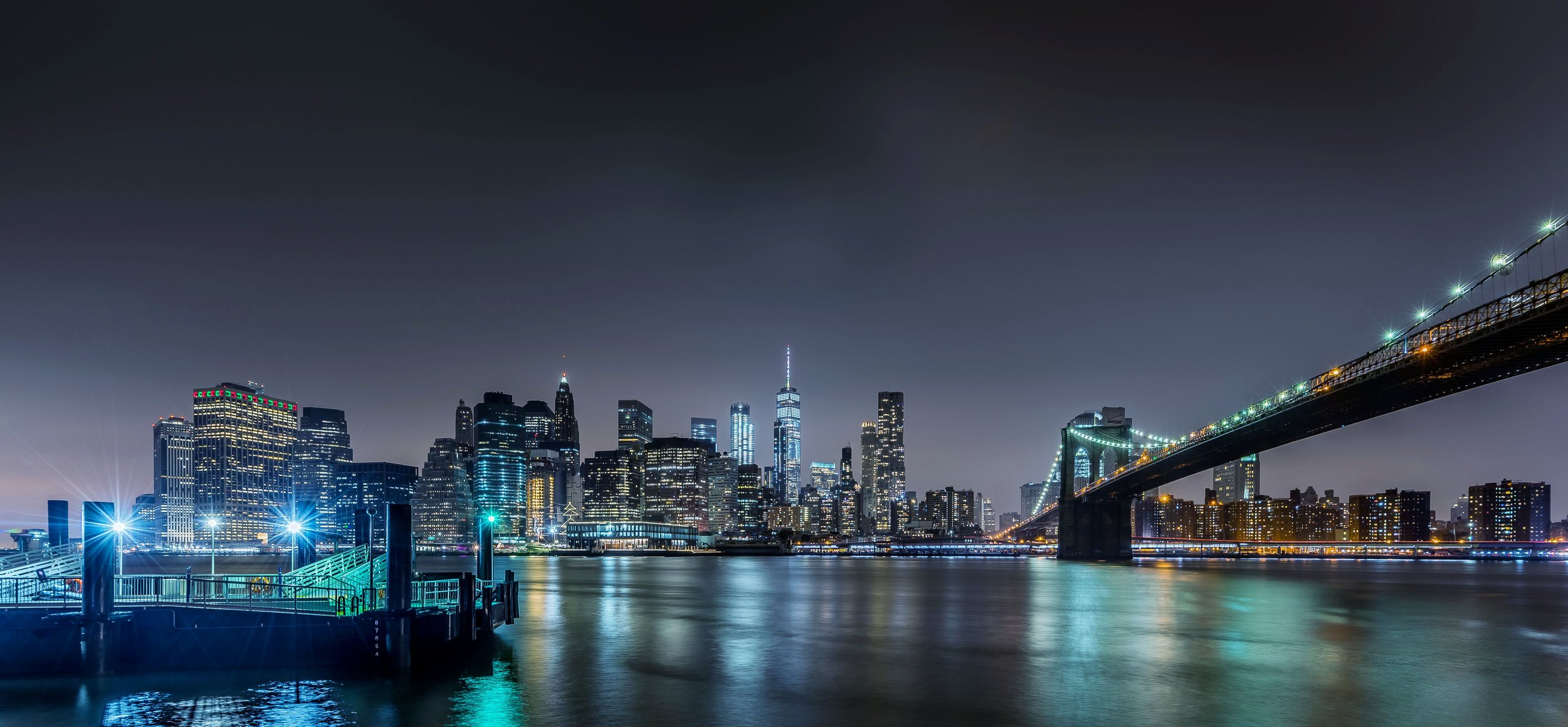 Lower Manhattan from the Brooklyn Bridge (click the image to view full size)
