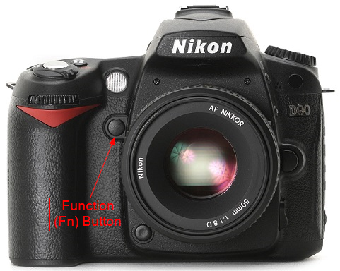 Nikon D90 Function (Fn) Button