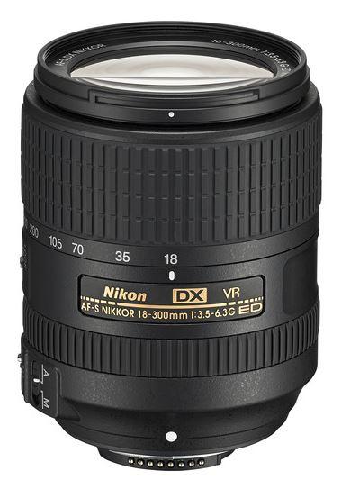 Nikon AF-S DX 18-300mm f/3.5-6.3 G ED VR Lens