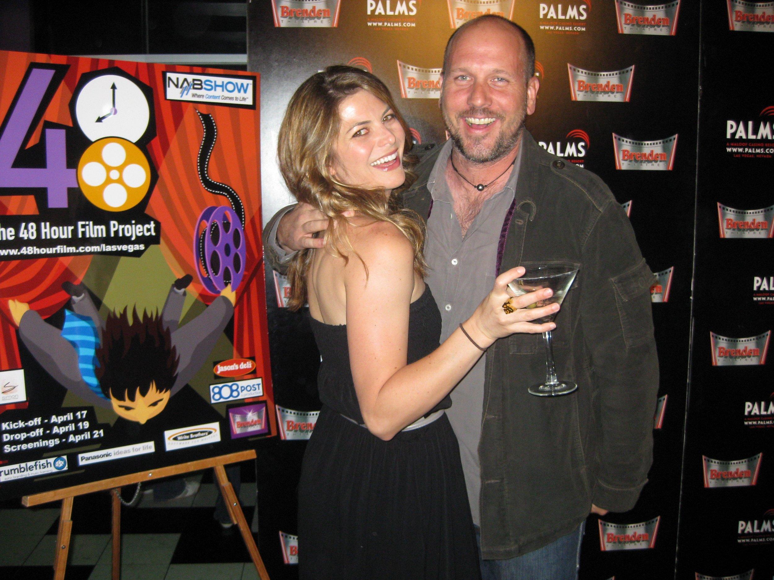 Julia Rose & Sean Doyle - Red Carpet @ The Palms