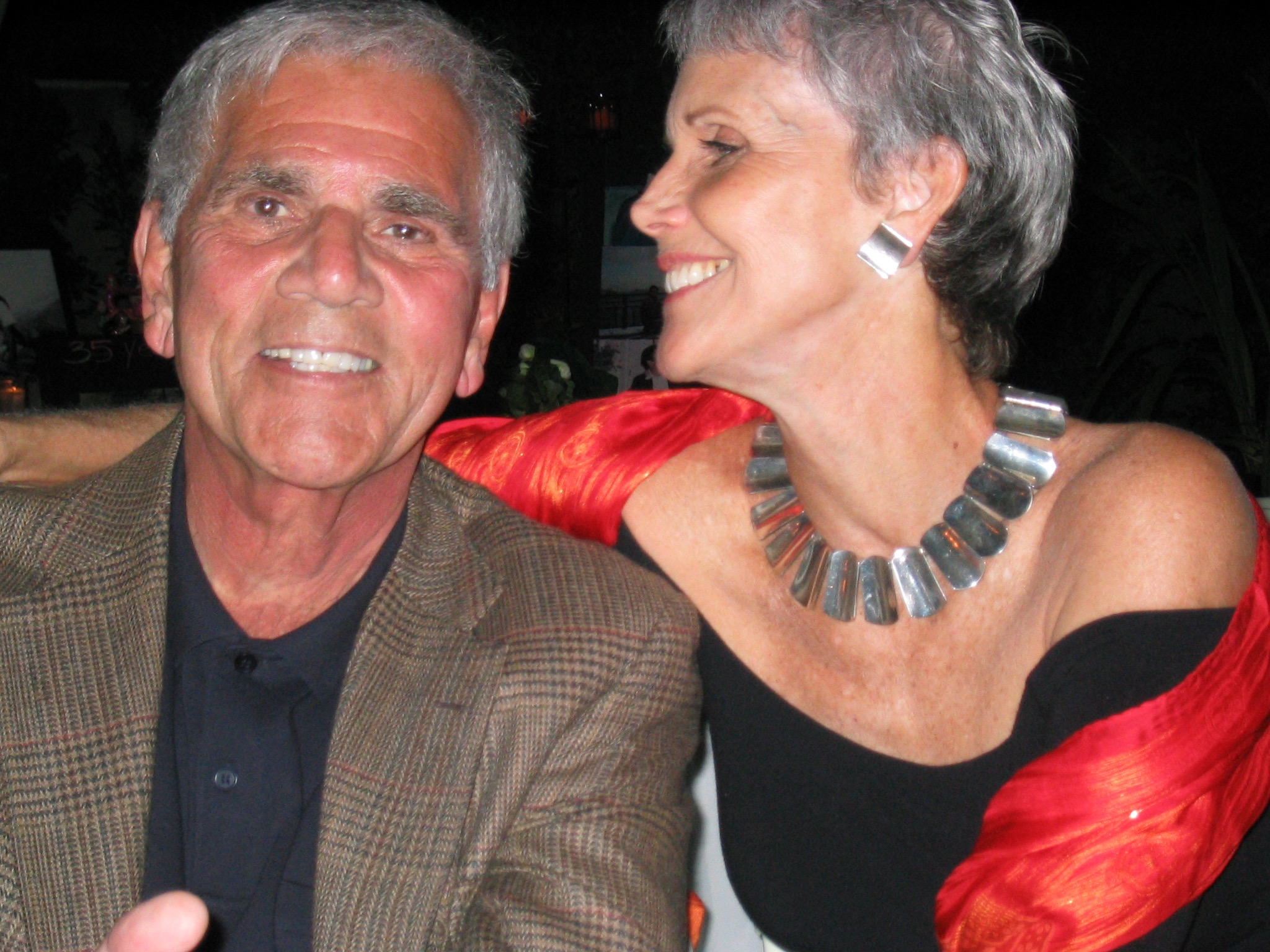 Rocco with his wife, Shannon Wilcox