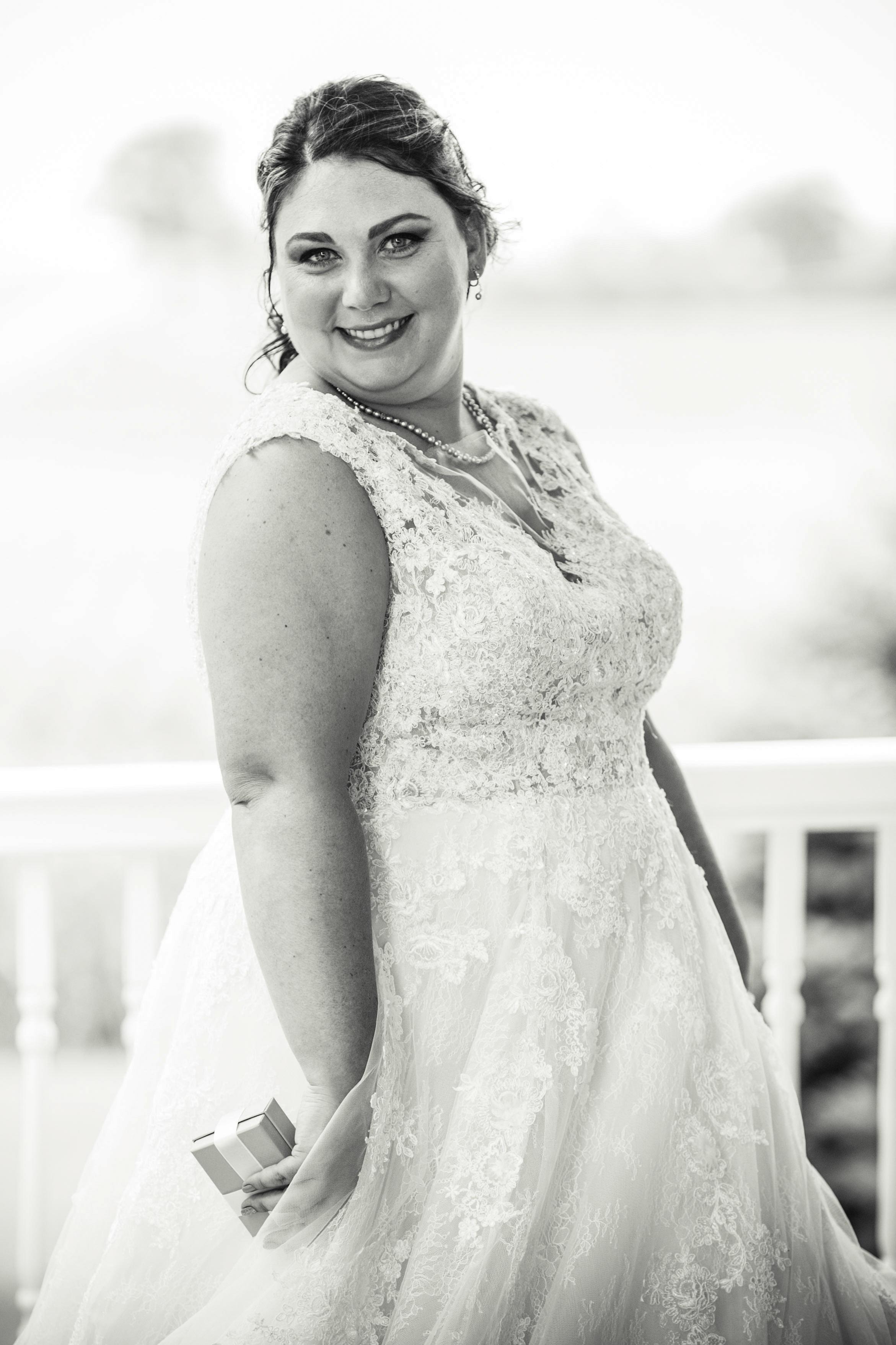 bride portrait shot