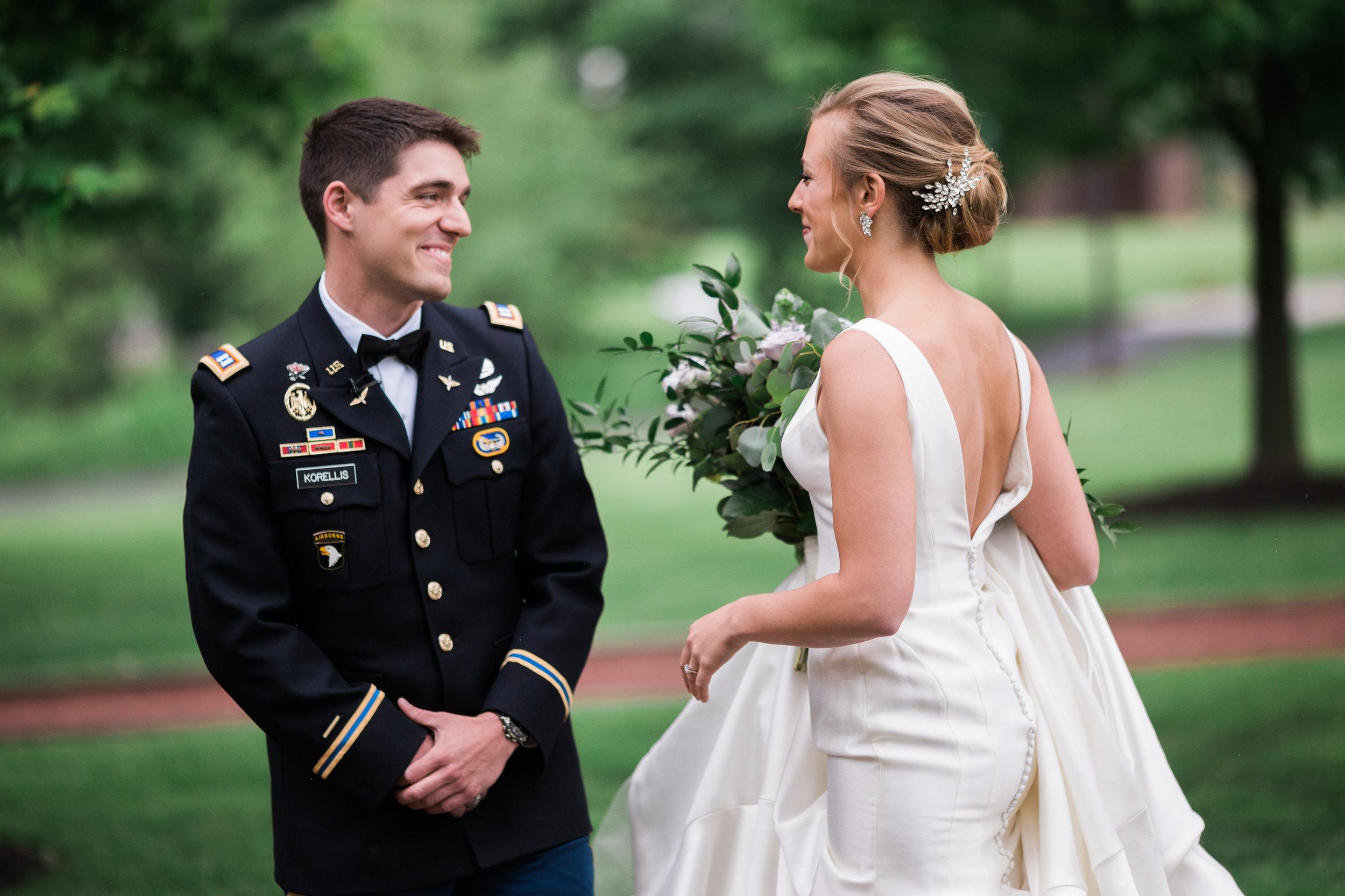 Centennial-Park-Munster-indiana-bride-and-groom-Lauren-ashley-studios-grooms-reaction.jpg
