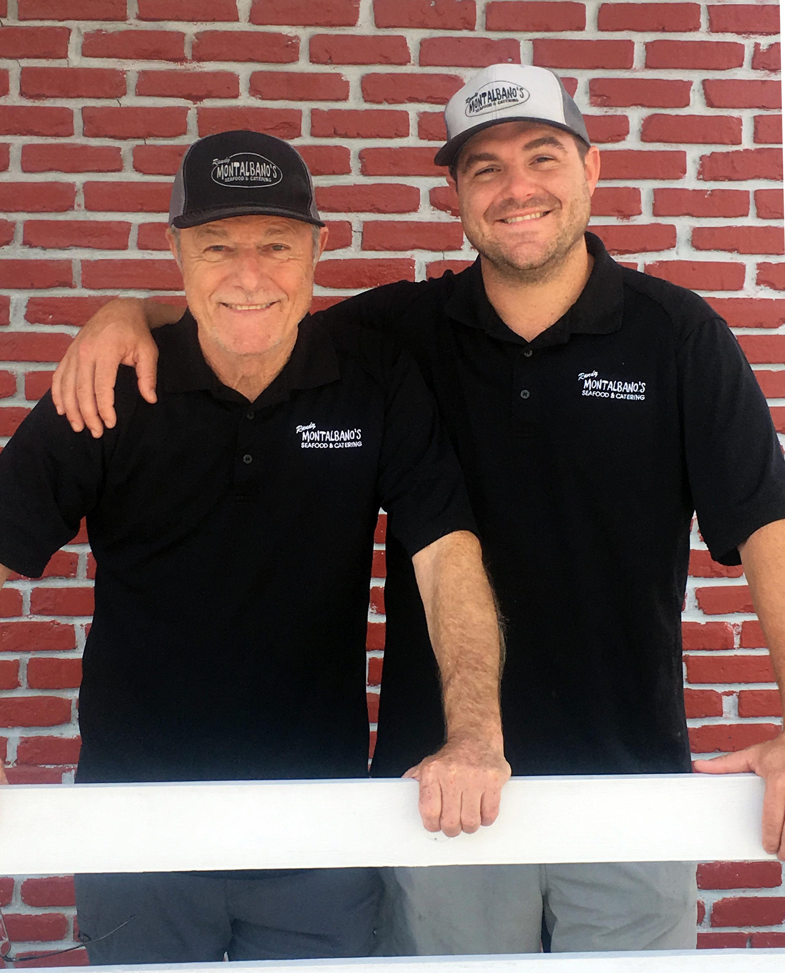 Randy Sr. and Randy Jr.