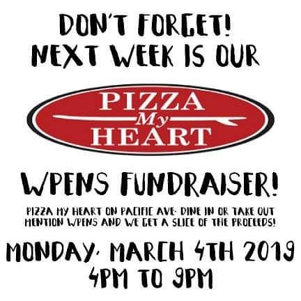 Pizza is delicious and helping kids is cool. See you at @pizzamyheart next Monday, yeah? #pizzaparty #preschoolfundraiser #santacruz