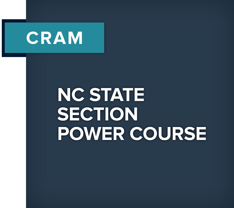 Real Estate Pre-License CRAM Courses in North Carolina