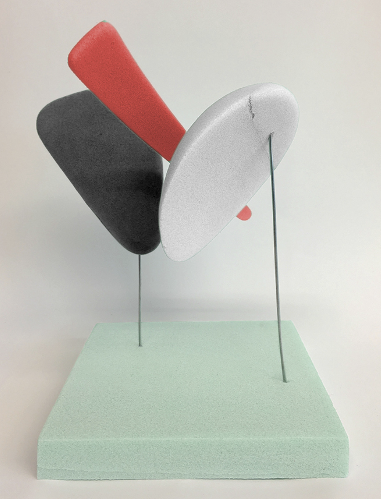 3D representation of the MOD culture and visual identity