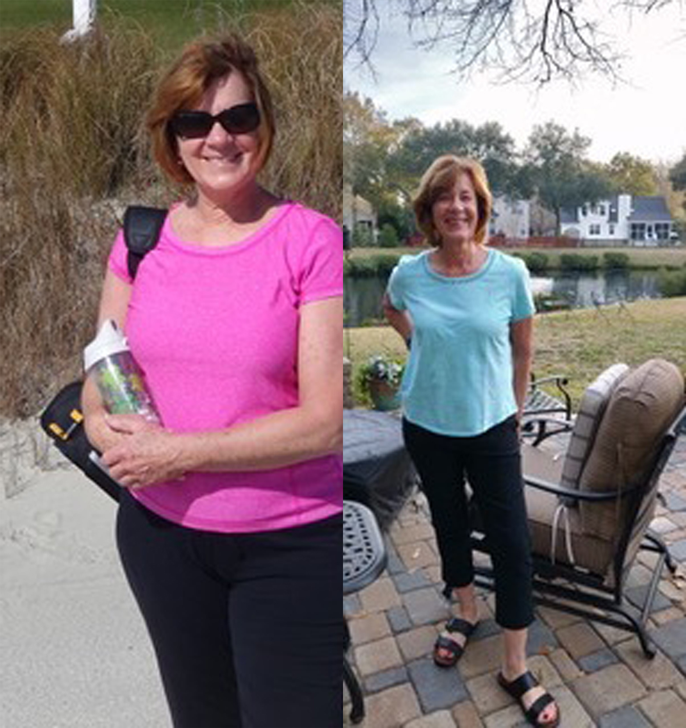 "Lisa was a supportive and caring coach who knew when to get my attention and remind me of my ""WHY"". In the process, I got fantastic results. She wanted me to succeed as much as I did. I would highly recommend this program to anyone. It is not a diet but a lifestyle change!   - Jackie, SC"