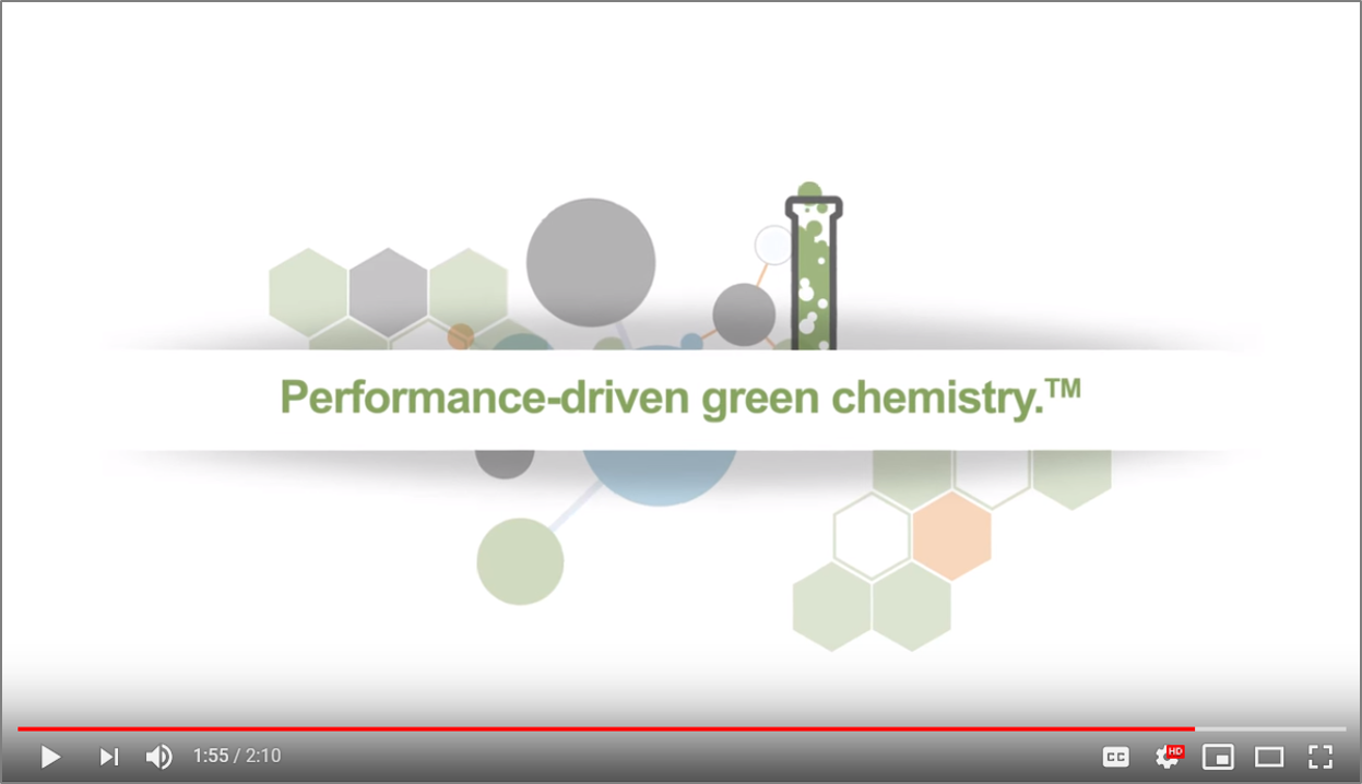 Animated Video - Create a video to educate chemical industry decision makers on the value of green chemistry and Resinate's value proposition. This was a fun challenge! We wrote the script, directed the design and brought in voice over talent to bring the story to life. See it here.