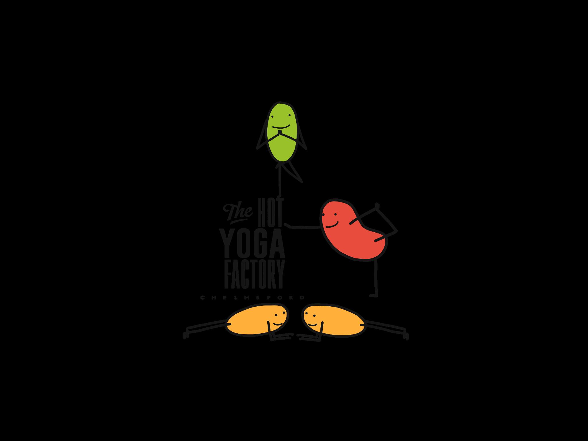 Commissioned graphic for yoga studio