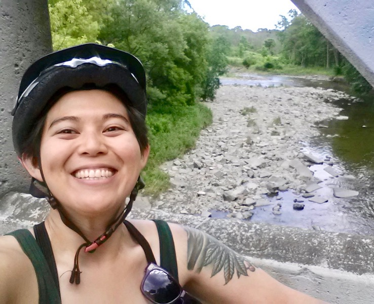 By no means was it all bike rides by ravines!