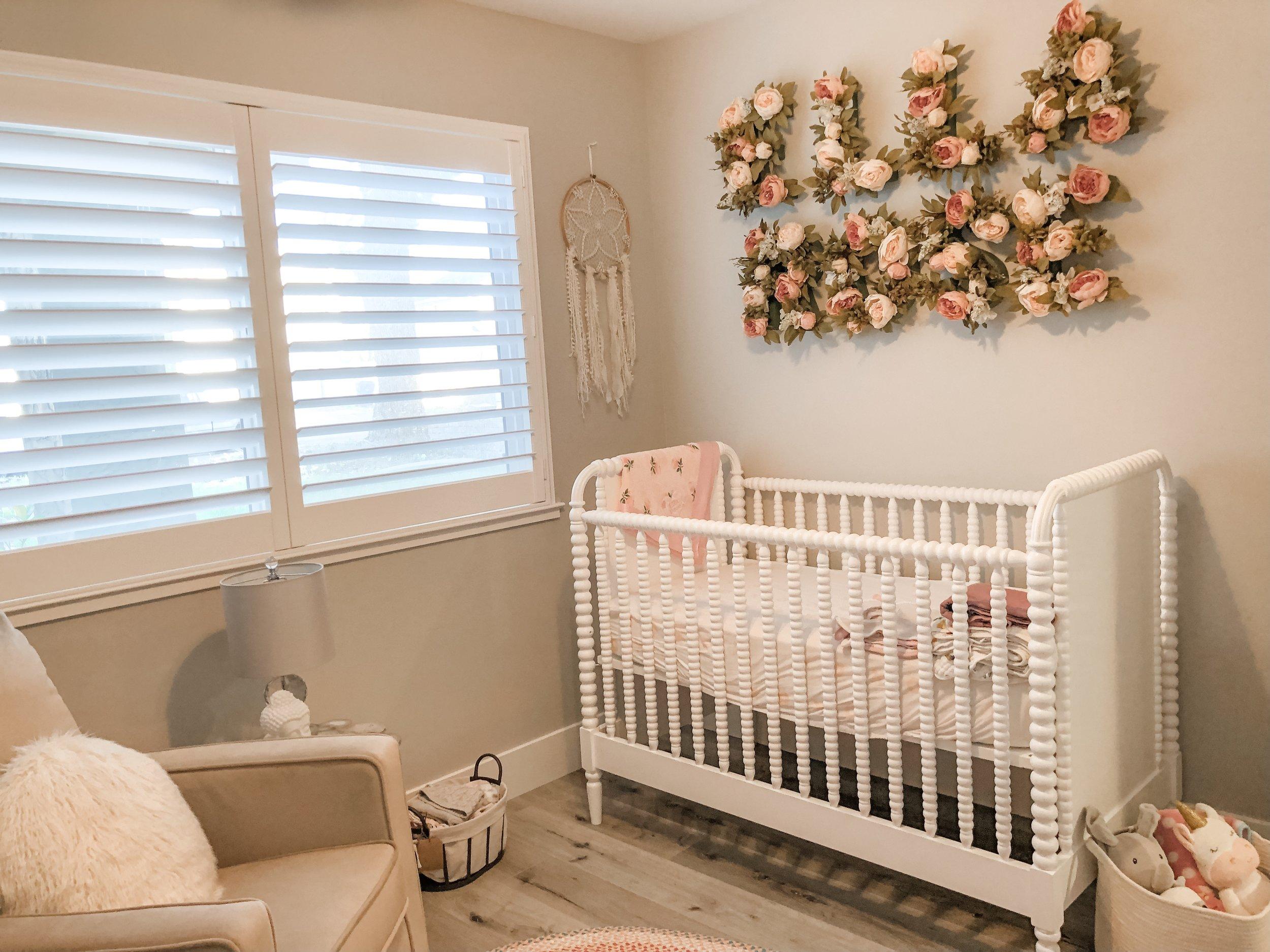 Ellas Nursery Crib
