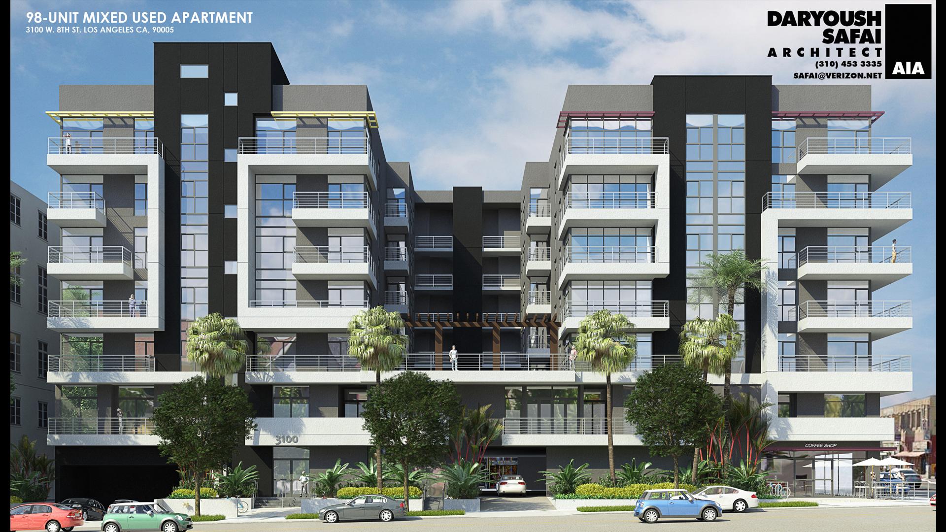 98 Units - 3100 W 8th St, Los Angeles, CA 90005