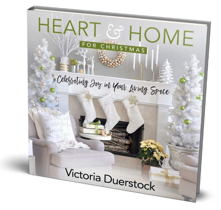 Heart & Home for Christmas: Celebrating Joy in Your Living Space - As a writer, teacher, and speaker with a busy work and family life, Victoria Duerstock understands that all the tasks of the holiday season can make it easy to forget the true joy that Christmas can bring. In Heart & Home for Christmas, Duerstock brings her mission to inspire hope for God's purpose, and her 20 years of experience in the furniture and design industry together, connecting Scripture with design elements and easy decorating tips in a way that reflects the true spirit of Christmas. The devotions and holiday decorating tips will encourage spiritual growth and inspiration to have both a captivating heart and home at Christmas.