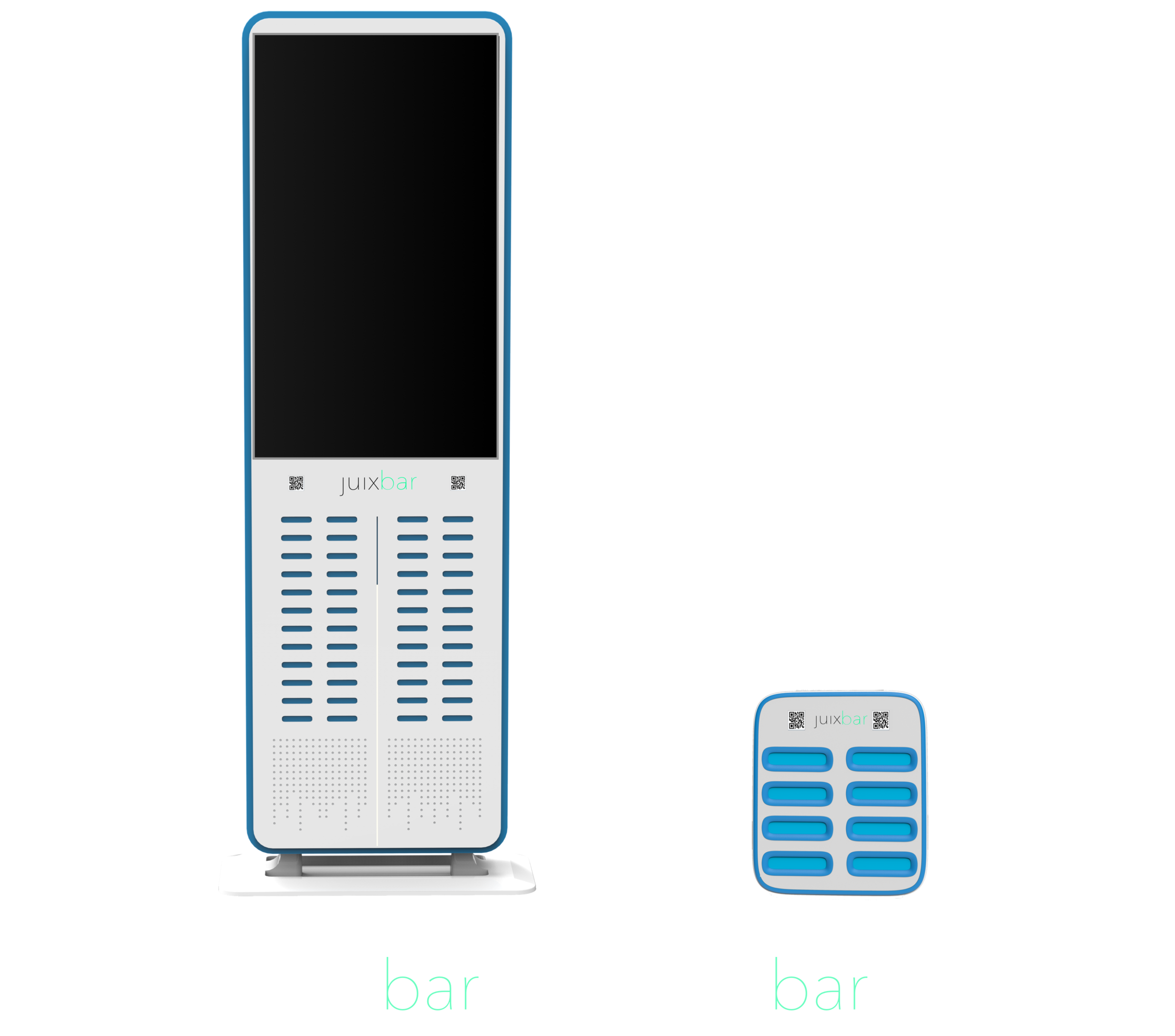 Convenient & Accessible - Juixboxes can be picked up or dropped off at your local Juixbar anytime you need charging on the go. They can be found at coffee shops, night clubs, malls, airports, and more. Simply rent a power bank and return it at any nearby location.