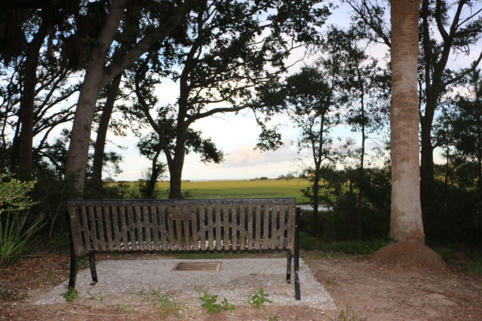 The Bench By the Road, Hilton Head, South Carolina
