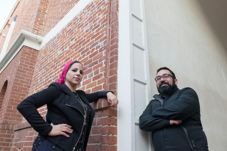 Rida Hamida and Benjamin Vazquez bring halal tacos, cultural mingling, to mosques