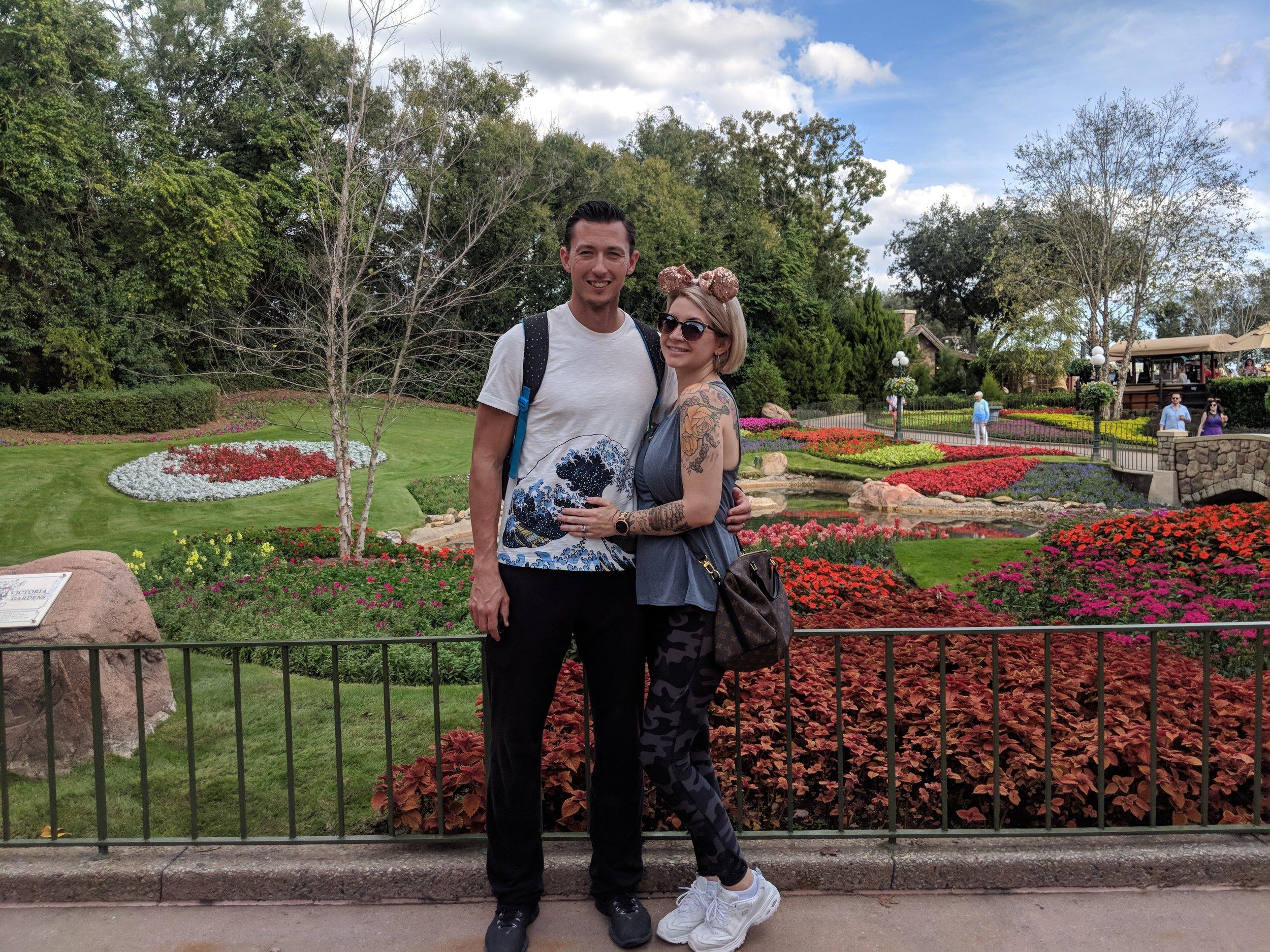 Us in Disney World, Jan 2019