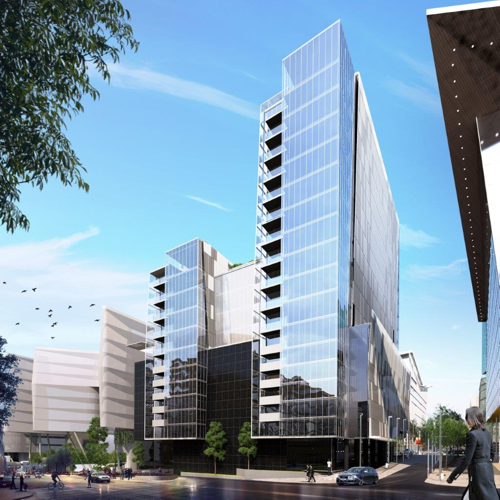 Katherine Towers - Location: Sandton, Johannesburg South AfricaType: 20 Storey Office BlockService: StructuralProject Cost: R 500 000 000.00