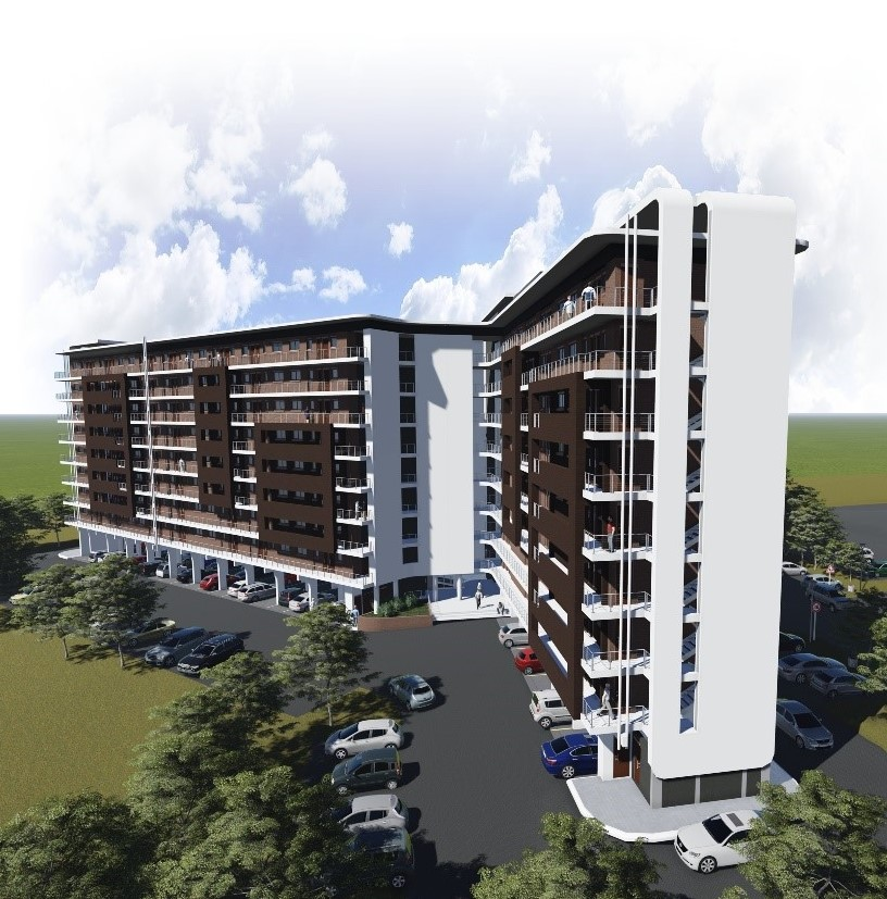 Die Hoewes - Location: Lyttelton, Centurion South AfricaType: 8 Storey ResidentialService: Civil and StructuralProject Cost: R 130 000 000.00