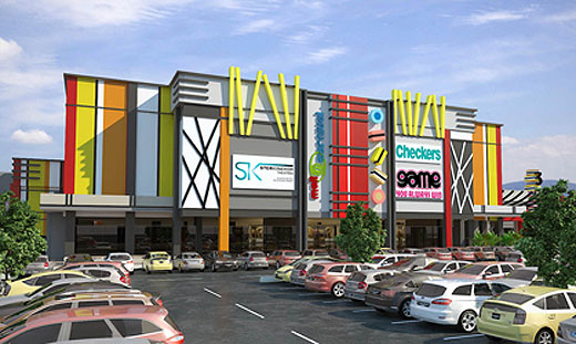 Mall@Carnival - Location: Brakpan South AfricaService: Civil and StructuralProject Cost: R 300 000 000.00