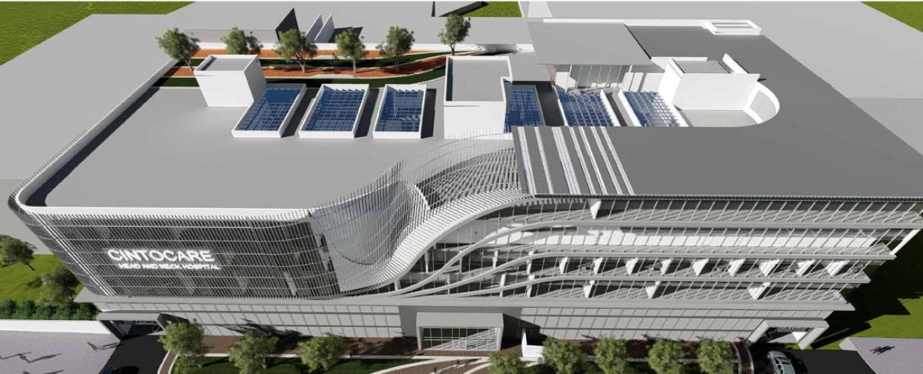 Cintocare Menlyn Maine Hospital   Location: Pretoria South Africa  Service: Civil, Structural and Facade  Project Cost: R 200 000 000.00